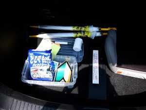 カーシェア備品 トランク